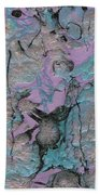 Abstract Pour 3 Bath Towel