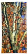 Abstract Reflection Photo Bath Towel