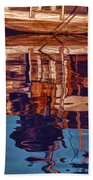 Abstract Reflections Bath Towel