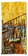 Abstract Roller Coaster Bath Towel