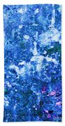 Abstract Splashing Water Bath Towel