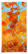 Abstract Summer Hand Towel