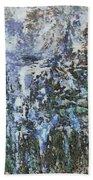 Abstract Winter Landscape Bath Towel