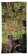 Abstracted Reflection Bath Towel