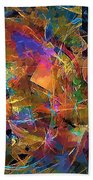 Abstraction 0357 Marucii Bath Towel