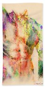 Abstractiv Body  Hand Towel