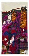 Abstracts 14 - The Deep Dark Woods Bath Towel