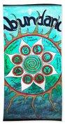 Abundance Money Magnet - Healing Art Bath Towel