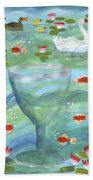 Ace Of Cups Bath Towel