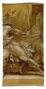 Achilles And Briseis Bath Towel