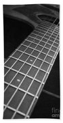 Acoustic Guitar Bath Towel