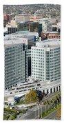 Adobe Systems Building San Jose California Bath Towel