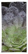 Adorned By Raindrops Bath Towel