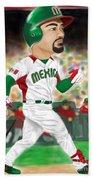 Adrian Gonzalez Team Mexico Bath Towel
