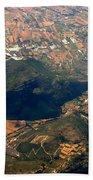 Aerial Photography - Hill Like A Big Mouse  Bath Towel