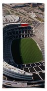 Aerial View Of A Stadium, Soldier Bath Towel