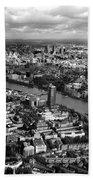Aerial View Of London Bath Towel