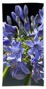 African Blue Lily Bath Towel