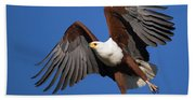 African Fish Eagle Bath Towel