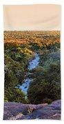 African Forest Bath Towel