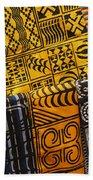 African Prints Bath Towel