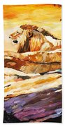 After The Hunt Hand Towel