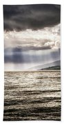 After The Storm Sea Of Galilee Israel Bath Towel