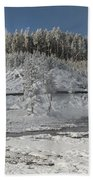 Afternoon At Mud Volcano Area - Yellowstone National Park Bath Towel