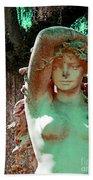 Afton Plantation Garden Statuary  Bath Towel
