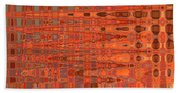 Aging Gracefully - Abstract Art Bath Towel