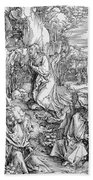 Agony In The Garden From The 'great Passion' Series Bath Towel