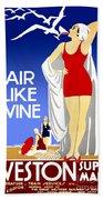 Air Like Wine Bath Towel