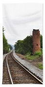 Alabama Tracks Bath Towel