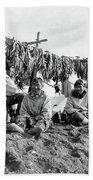 Alaska Drying Fish, C1900 Bath Towel
