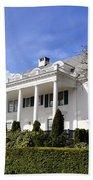 Alaska Governors Mansion Bath Towel