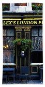 Alex's London Pub Bath Towel