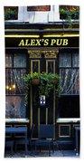 Alex's Pub Bath Towel