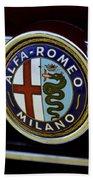 Alfa Romeo Badge Bath Towel