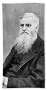 Alfred Russel Wallace (1823-1913) Bath Towel