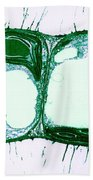 Algae Cell Division, Cylindrocapsa Bath Towel
