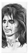 Alice Cooper Bath Towel