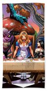 Alice In Wonderland 06a Hand Towel by Zenescope Entertainment