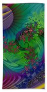 Alien Flora / Worlds Away Bath Towel