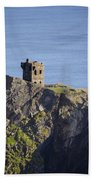 All Along The Watchtower - Bunglass Donegal Ireland Bath Towel