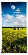 All American Hay Bales Hand Towel