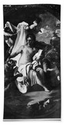 Allegory Of Africa Hand Towel