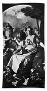 Allegory Of Europe Hand Towel