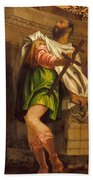 Allegory Of Navigation With A Cross-staff Hand Towel