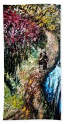Alley By The Lake Bath Towel