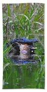 Alligator Appetite Bath Towel